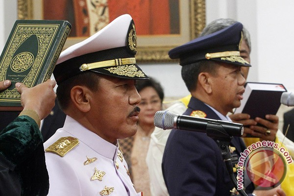 Presiden lantik Kasal dan Kasau baru