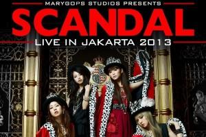 Band SCANDAL ingin kembali tampil di Indonesia