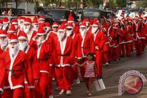 20121206parade santa Pawai Sinterklas akan semarakkan Natal di Jayapura
