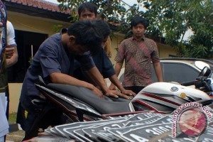 Polisi tembak pencuri motor cabul