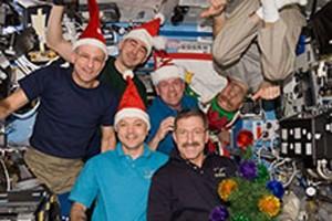 Awak Expedition rayakan Natal di ruang angkasa