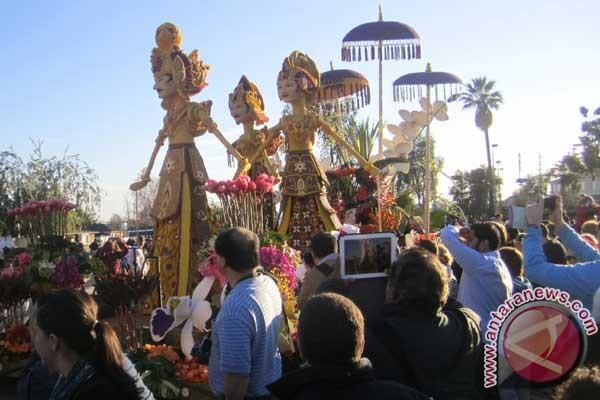 Indonesia raih penghargaan di parade bunga Pasadena