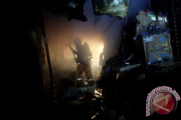 Kebakaran di kantor Kemenkumham