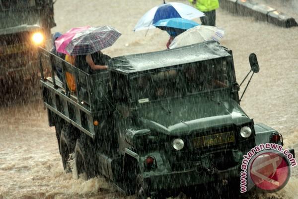 Pemerintah pusat intervensi banjir Jakarta
