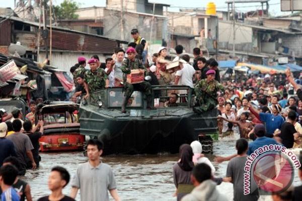 Kantor Penghubung Bengkulu di Jakarta juga kebanjiran