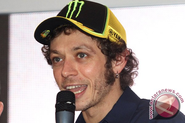 Yamaha pastikan Rossi absen di GP Misano