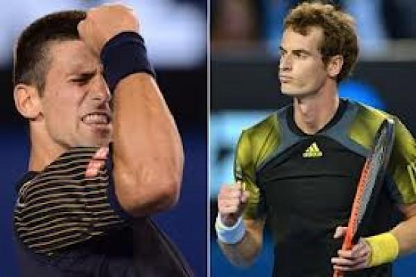 Djokovic raih gelar keempat, Murray meringis kesakitan