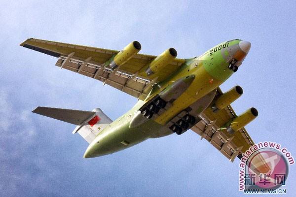 Pesawat patroli Tiongkok memasuki wilayah Taiwan