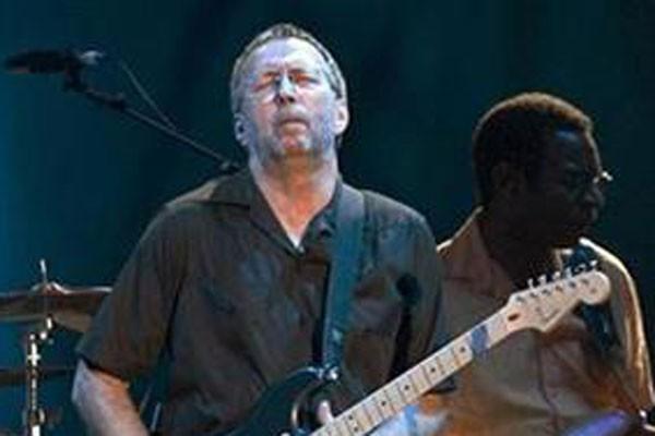 Eric Clapton bilang