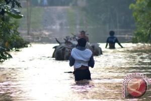 Hujan terus mengguyur Kabupaten Lampung Timur