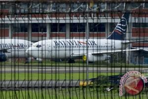 Pesawat terbang dan aset Batavia Air ditahan di Kupang