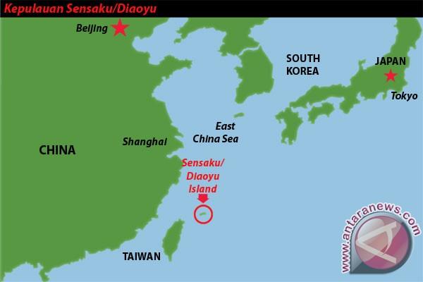 Jepang dan China tegang