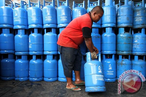 Harga elpiji 12 kg naik sebesar Rp12.000/tabung