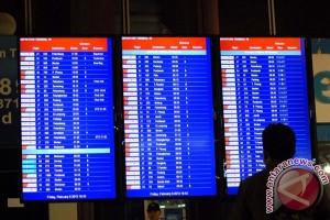 30 penerbangan terlambat akibat kebakaran