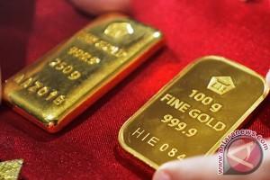 Emas turun tertekan komentar Ketua Fed AS