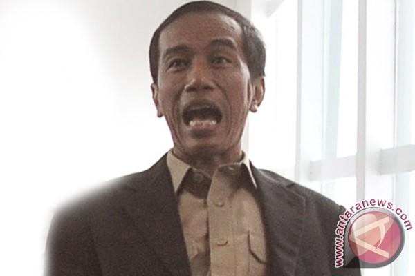 Jokowi kampanyekan Ganjar-Heru di Wonosobo