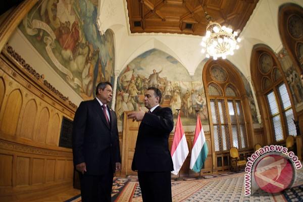 Presiden Yudhoyono menuju Hungaria
