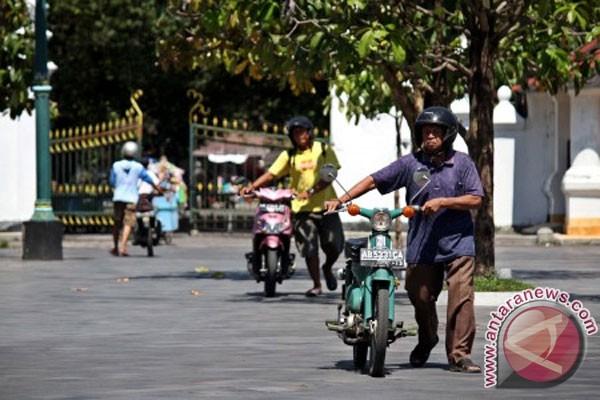 Yogyakarta 34 derajat Celcius