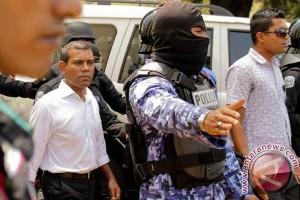 Maladewa kukuhkan hukuman penjara mantan presiden Nasheed