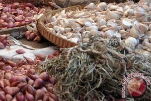 Harga bawang masih belum normal di Banjarmasin