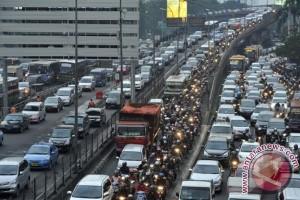 Kendaraan di Jakarta bertambah 1,2 juta dalam 10 bulan
