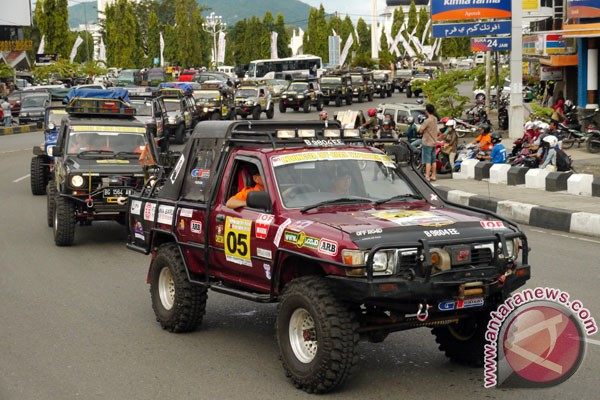 62 peserta ikuti Indonesia Offroad Expedition Aceh-Sumut