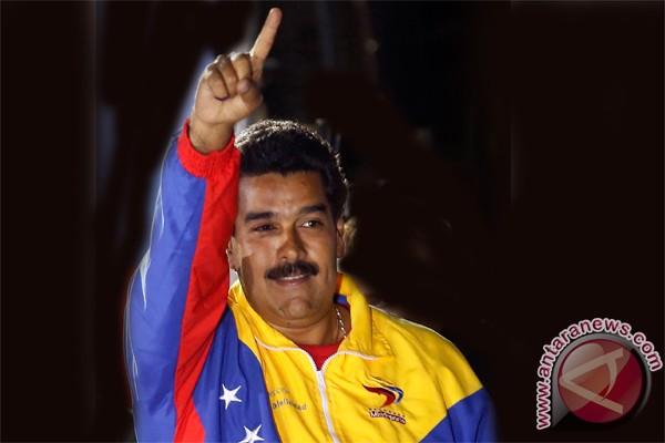 Presiden Kuba ucapkan selamat kepada Nicolas Maduro