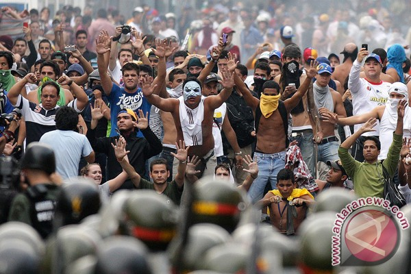 Kerusuhan pasca Pemilu Venezuela, tujuh orang meninggal