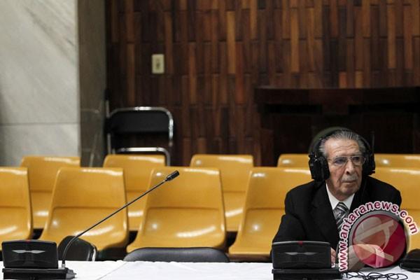 Pengadilan genosida mantan diktator Guatemala akan dilanjutkan