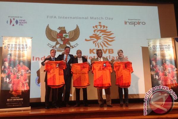 Timnas Belanda tantang Timnas Indonesia di Jakarta