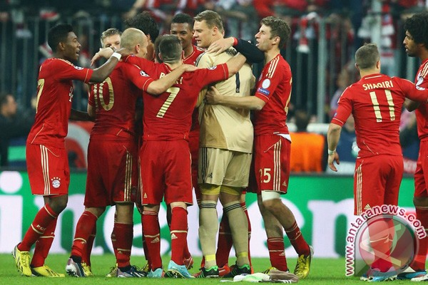 Bayern Munchen hajar Barca 4-0