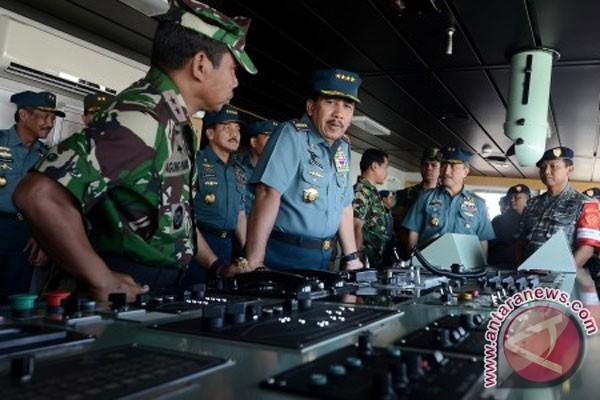 Presiden tinjau latihan gabungan TNI