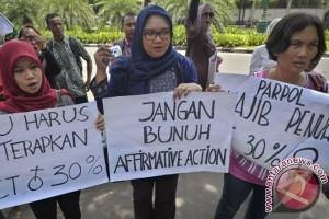 Partai diminta prioritaskan nomor urut caleg perempuan