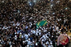 Pemakaman Ustad Jefry