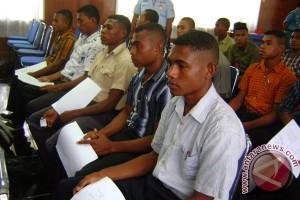 """Hampir 100 putra Papua jalani """"spotting"""" calon taruna"""