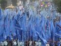 Massa gabungan dari berbagai elemen buruh melakukan long march di kawasan Protokol MH. Thamrin Jakarta, Rabu (1/5). Peringatan Hari Buruh Internasional yang diikuti ribuan buruh tersebut menuntut pemerintah untuk meningkatkan kesejahteraan buruh serta menjalankan program jaminan sosial. (FOTO ANTARA/Wahyu Putro A)