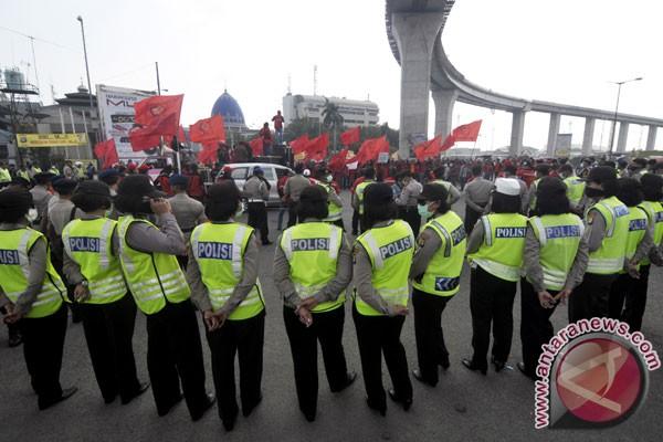 Polri nilai peringatan Hari Buruh pada situasi aman