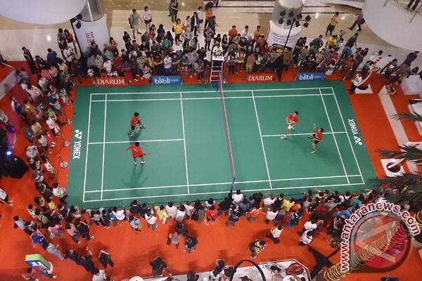 Promo Indonesia Terbuka, atlet-artis main bulutangkis