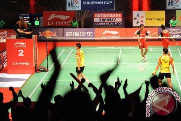 Hasil lengkap perempat-final Piala Sudirman