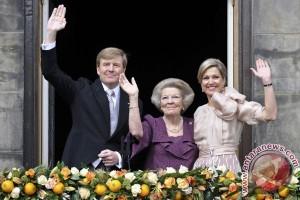 Willem-Alexander jadi Raja Belanda, gantikan ibunya