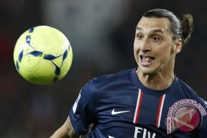 """Ibrahimovic """"top scorer"""" Liga Utama Prancis"""