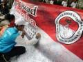 Badan Narkotika Nasional (BNN) propinsi Jabar, mengadakan sosialiasi Hari Anti Narkoba Internasional, di Bandung, Minggu (9/6). Rangkaian peringatan Hari Anti Narkoba mulai dikampanyekan kepada masyarakat luas terutama anak dan remaja untuk memberikan penyadaran bahaya narkoba. (ANTARA FOTO/Agus Bebeng)