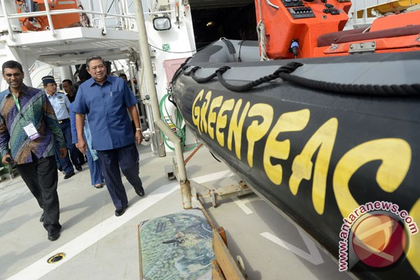 Greenpeace environmental partner of Indonesia