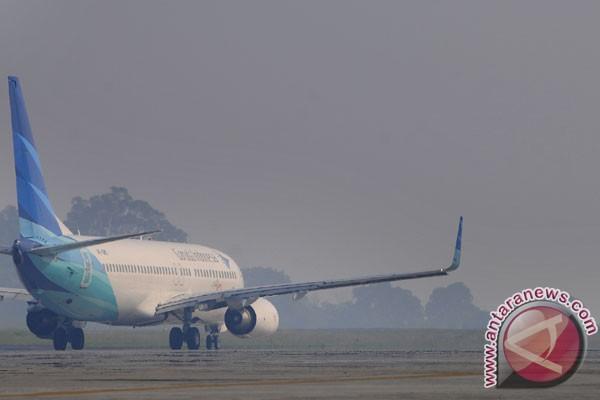 Kabut asap ganggu penerbangan di Batam
