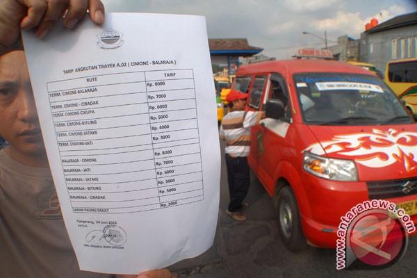 Koreksi harga BBM repotkan Organda tetapkan tarif
