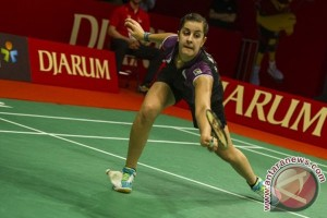 Carolina Marin akui sempat gugup hadapi wakil Malaysia
