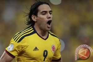 Kolombia curi poin di Brasil berkat gol Falcao