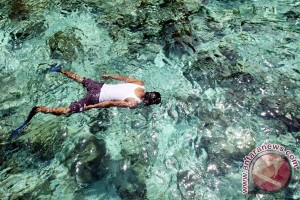 Visitors to West Halmahera enchanted by its natural beauty
