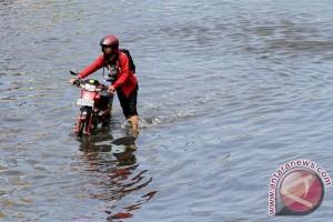 Banjir di Kutai Kartanegara mulai surut