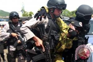 Polisi tangkap empat terduga teroris di Riau